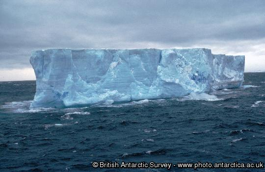 Tabular iceberg in the Weddell Sea