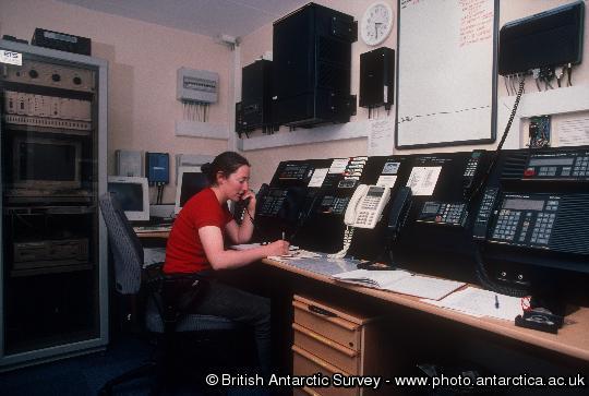 Communication room at KEP