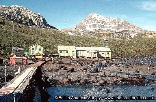 BAS Research Station  at Bird Island