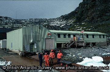 Signy Research Station - South Orkney Islands.